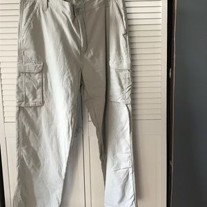 Men's cargo pants size 42x30 fleece lined new